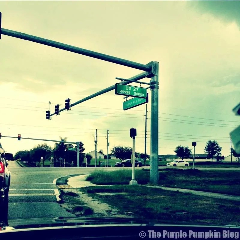 Road Signs in Orlando - Road Names