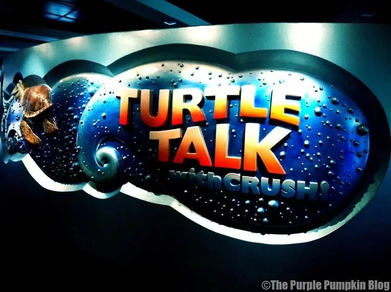 Turtle Talk with Crush - Epcot