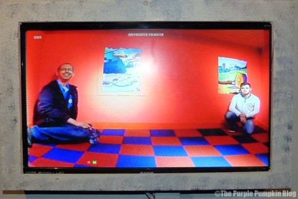 Wonderland Gallery at Ripley's Believe It Or Not London - The Ames Room