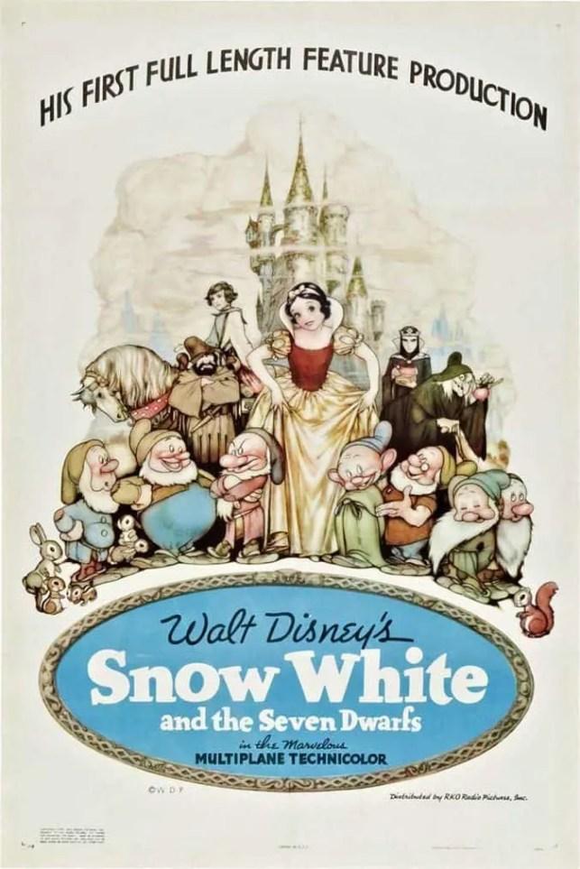 Snow White - Disney Movie Poster