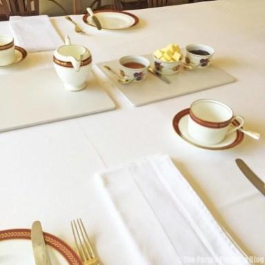 Breakfast at The Duchy Rag House B&B, Wiltshire