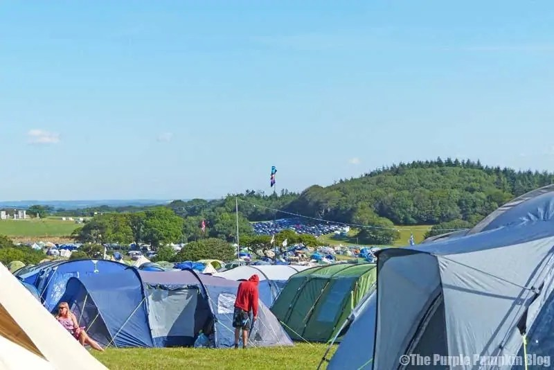 Camp Bestival - Camping Plus Camp Site