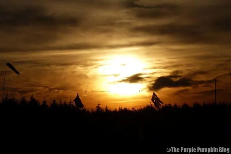 Camp Bestival - Sunset