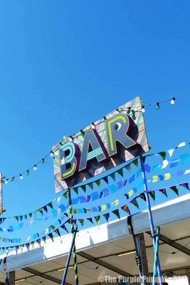 Castle Field Bar at Camp Bestival