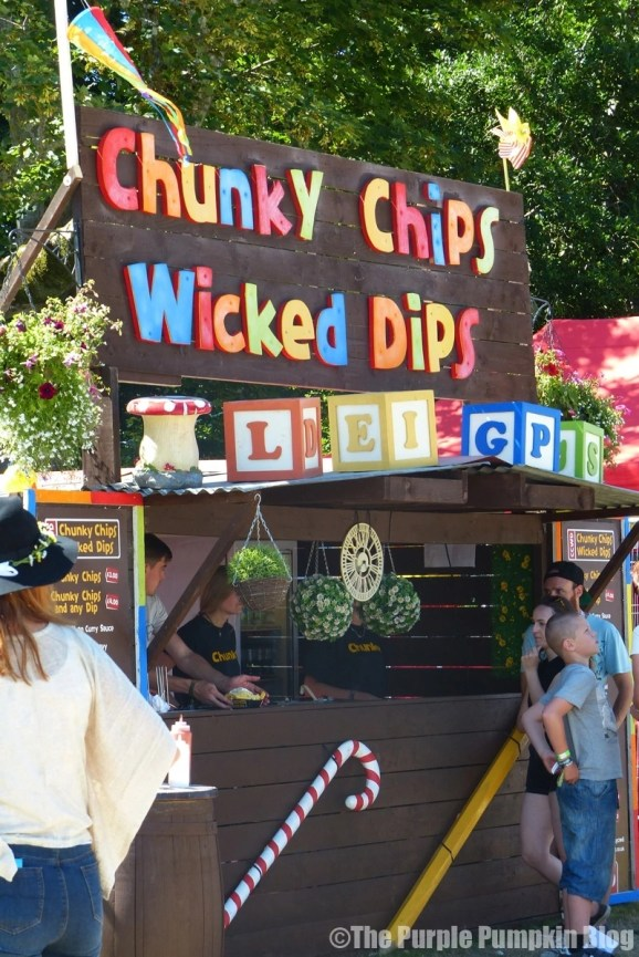 Chunky Chips Wicked Dips at Camp Bestival