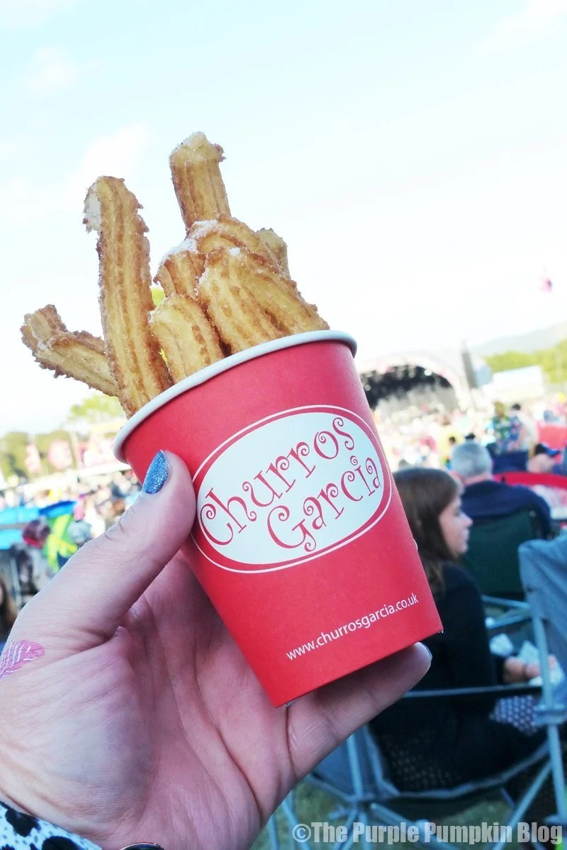Churros Garcia at Camp Bestival