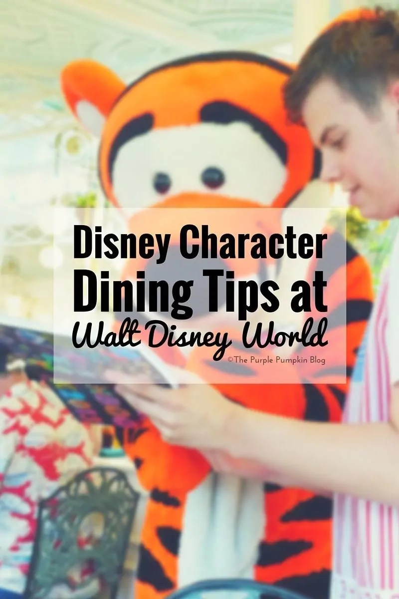 Disney Character Dining Tips at WDW