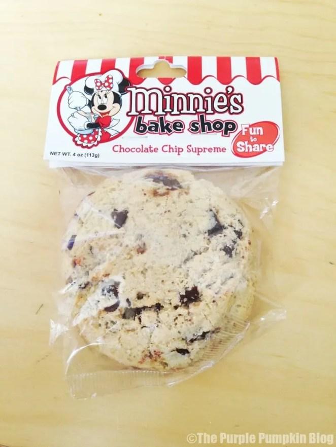 Disney Snacks - Minnie's Chocolate Chip Cookie
