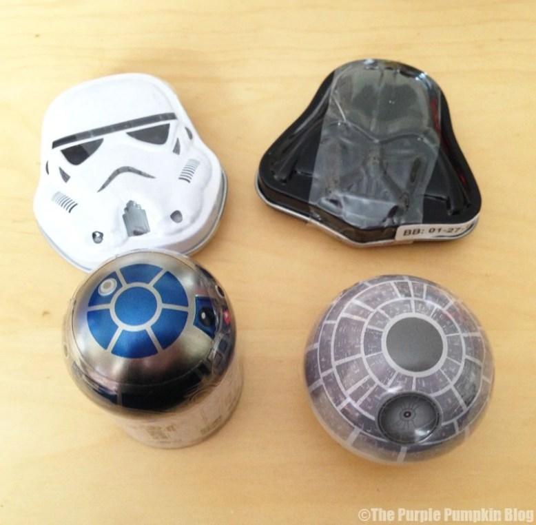Disney Snacks - Star Wars Candy Tins