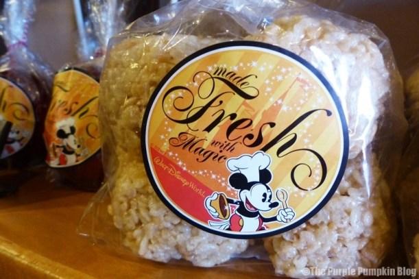 Disney Snacks - Rice Krispie Treats