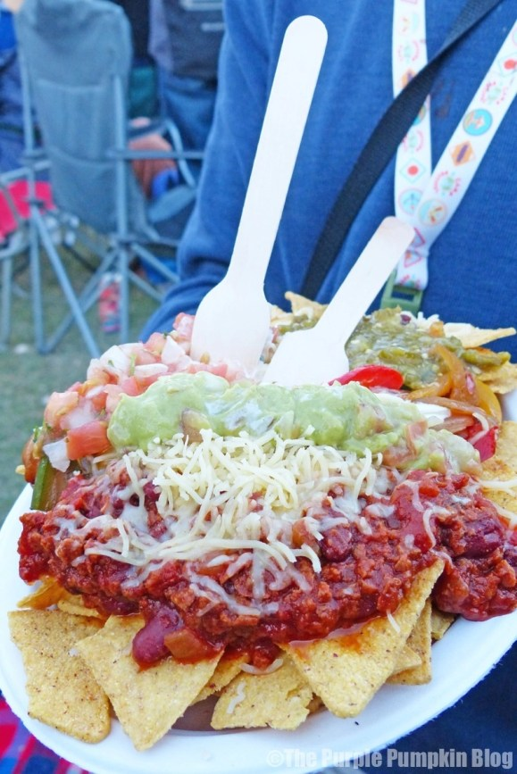 Flaming Cactus - Nachos at Camp Bestival