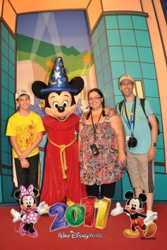 Meeting Sorcerer Mickey at Hollywood Studios