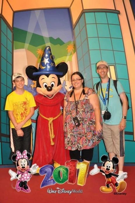 Meeting Sorcerer Mickey at Hollywood Studios