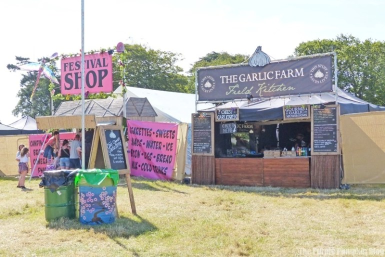 The Garlic Farm Field Kitchen at Camp Bestival