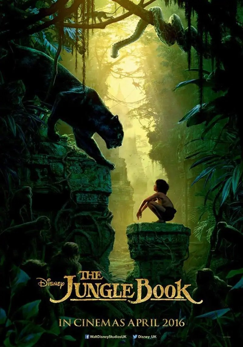 The Jungle Book Movie Poster