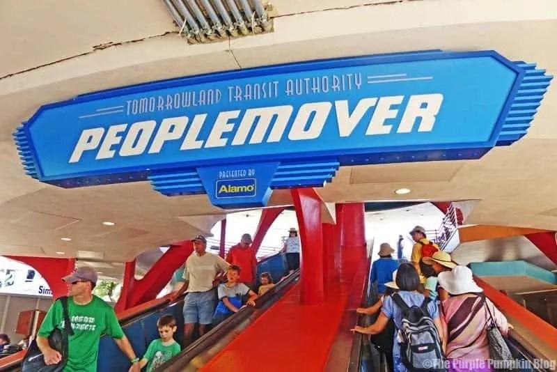 Tomorrowland Transit Authority PeopleMover - Magic Kingdom