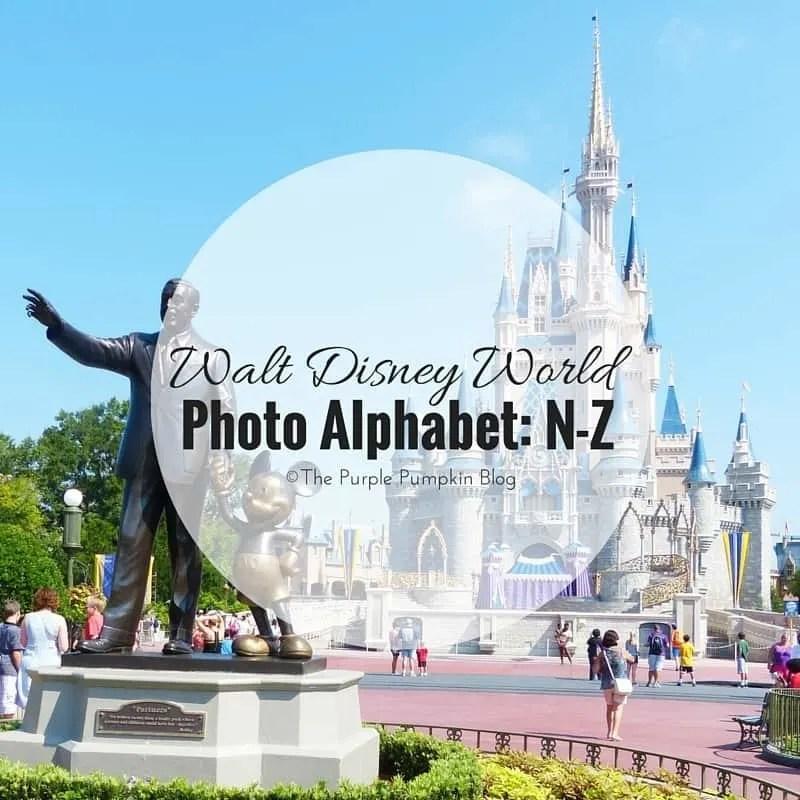 Walt Disney World Alphabet N-Z