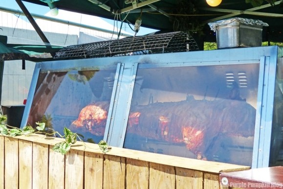 Whole Hog Roast at Camp Bestival