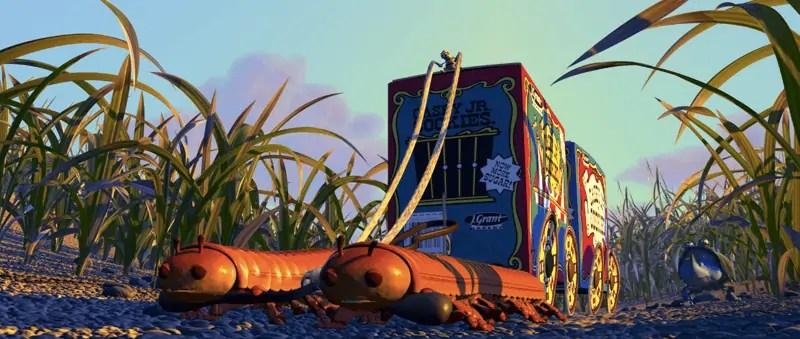 a bugs life pt flea circus trailer