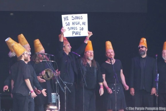 The Spooky Men's Chorale - Camp Bestival