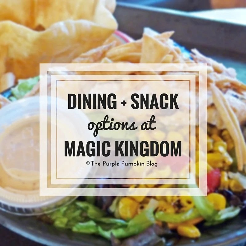 Dining + Snack Options at Disney's Magic Kingdom. Never be stuck for where to eat at this theme park ever again!