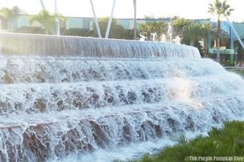 Epcot Water Fountain