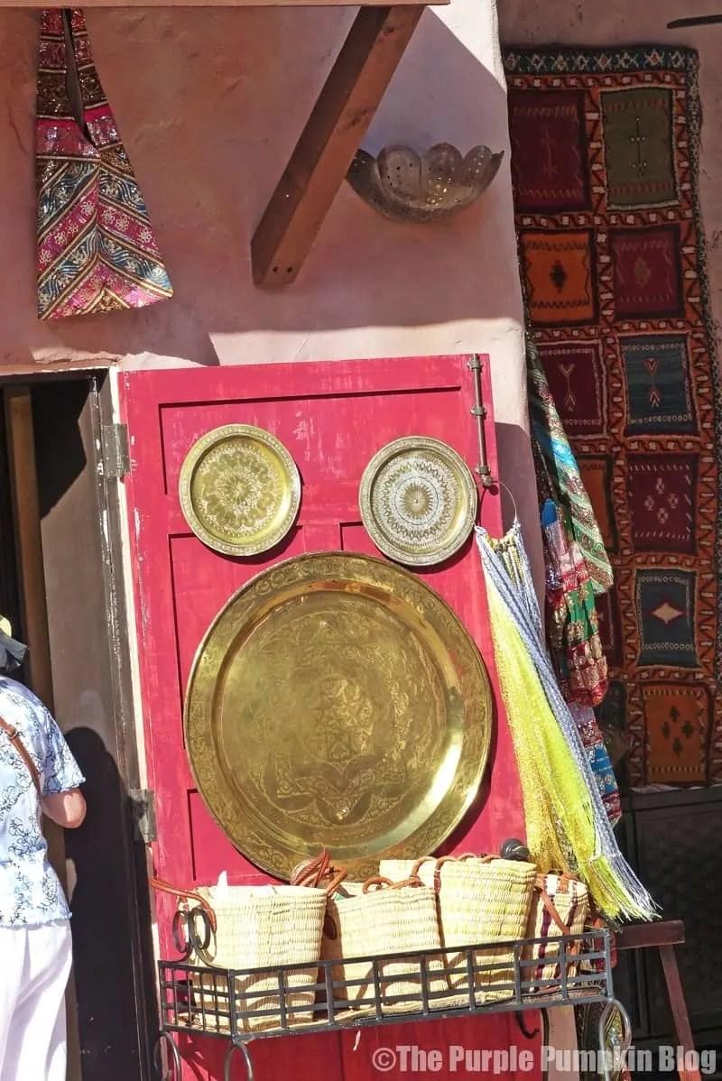 Epcot World Showcase - Morocco Pavilion - Hidden Mickey