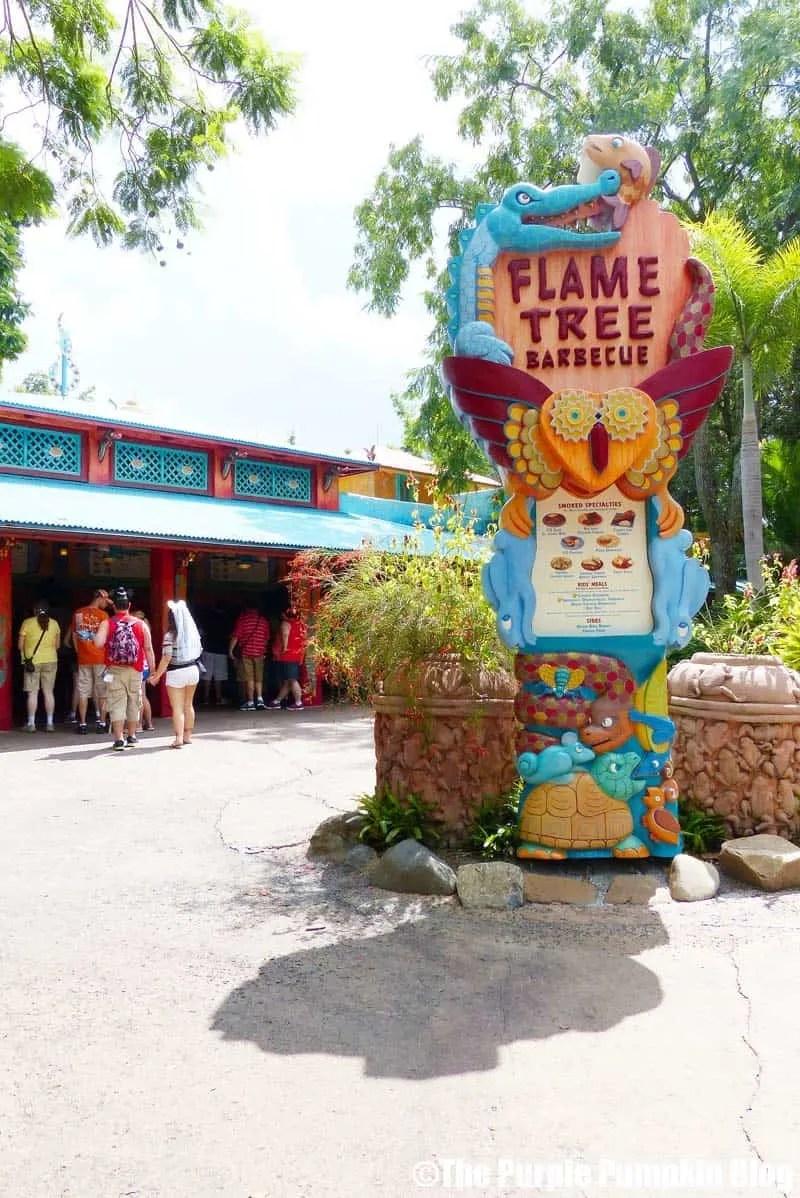 Flame Tree Barbecue - Animal Kingdom