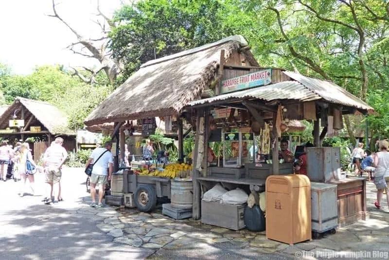 Harambe Fruit Market - Animal Kingdom