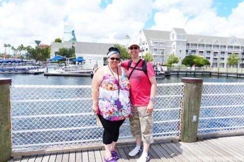 Me & Hubby at Disneys Beach & Yacht Club