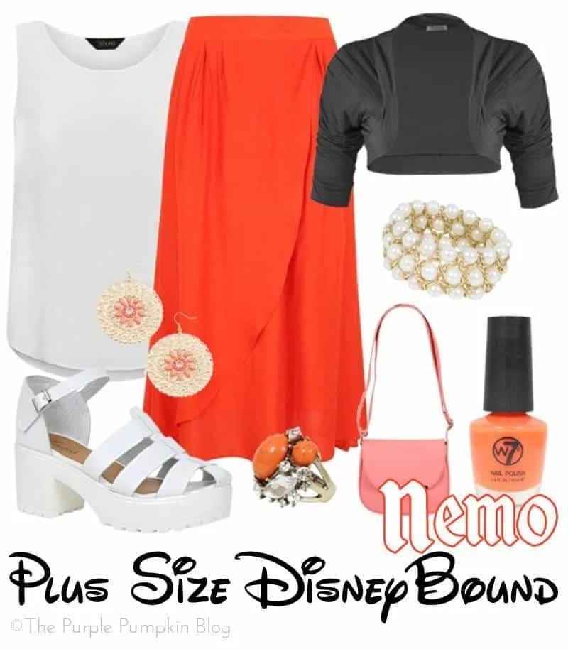 Nemo - Plus-Size DisneyBound