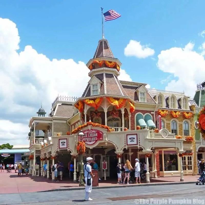 Plaza Ice Cream Parlour - Magic Kingdom