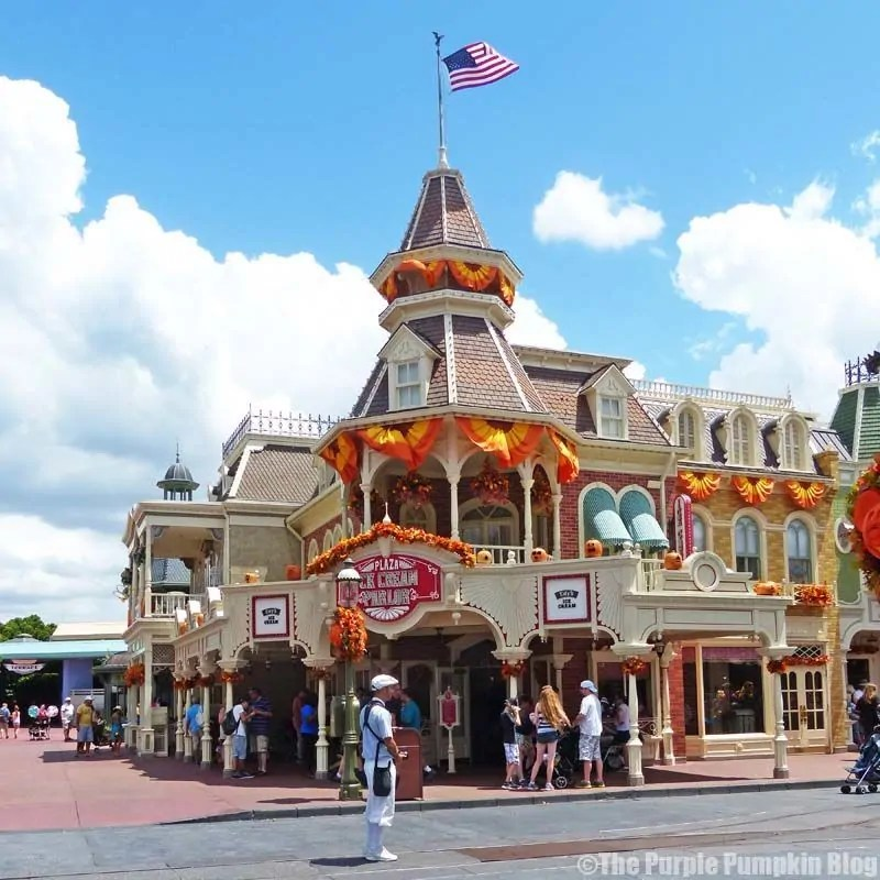 Plaza Ice Cream Parlour - Magic Kingdom