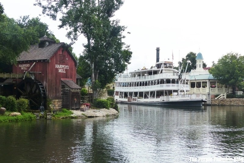 Liberty Square Riverboat at Magic Kingdom