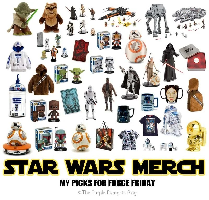Star Wars Merch - My Picks For Force Friday