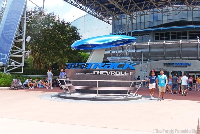 Test Track at Epcot