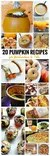 20 pumpkin recipes for halloween fall crafty october day 4 for October recipes