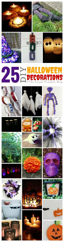 25 diy halloween decorations crafty october day 18 for Halloween decorations to make at home