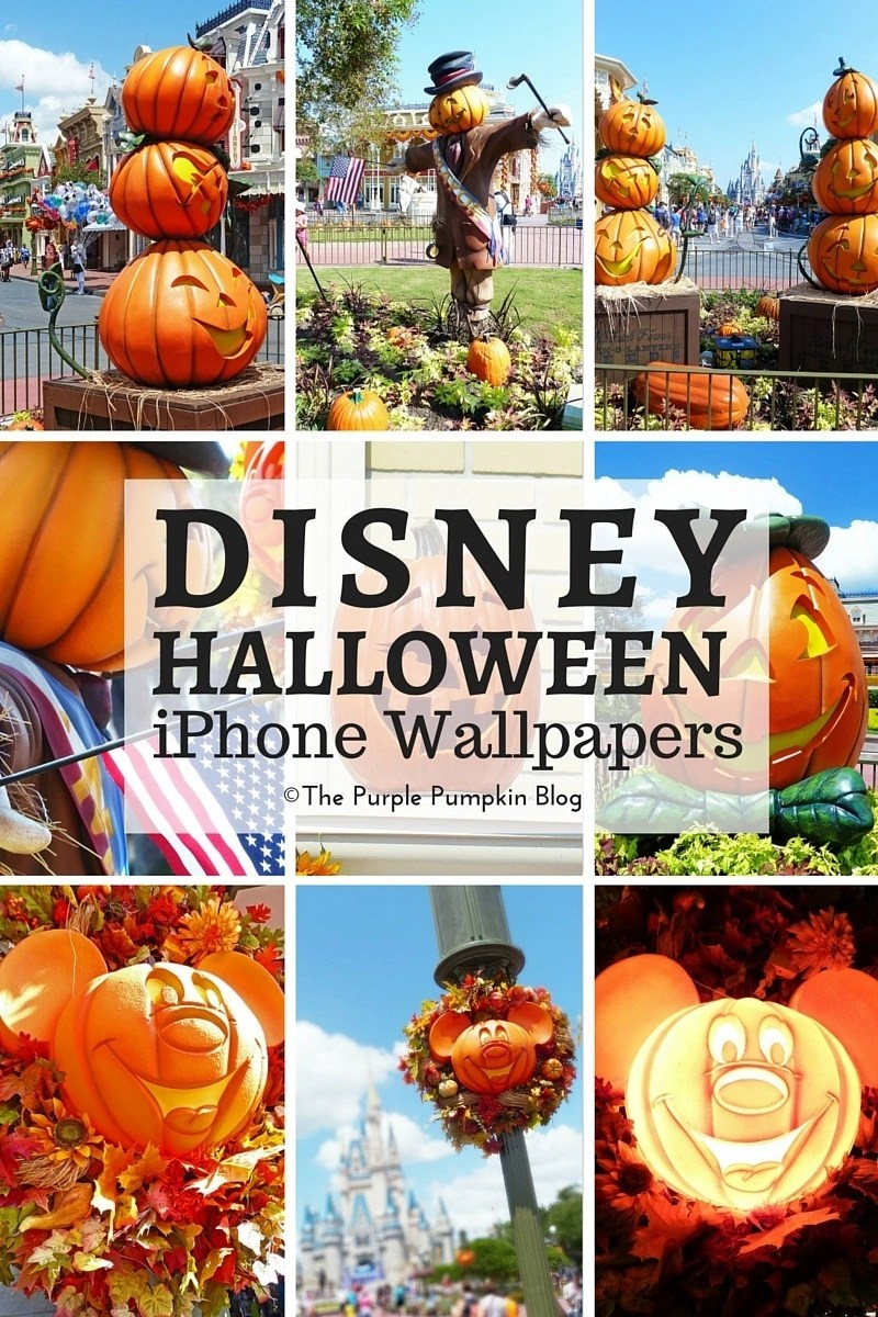 Disney Halloween iPhone Wallpapers. Free to save and download to your phone. Lots of other sets available too!