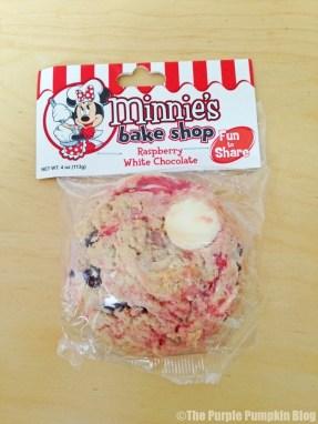 Disney Raspberry White Chocolate Cookie