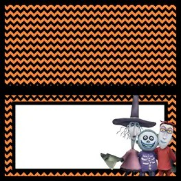 Food Labels - The Nightmare Before Christmas - Free Printables - Lock Shock Barrel