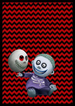 Nightmare Before Christmas - Barrel - Banner