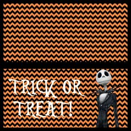 Nightmare Before Christmas - Jack Skellington- Treat Bags 2