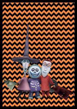 Nightmare Before Christmas - Lock Shock Barrel - Banner