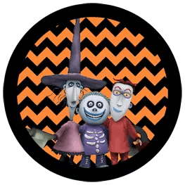 Nightmare Before Christmas - Lock Shock and Barrel - Halloween Toppers