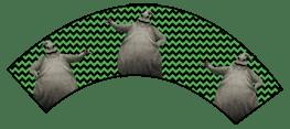 Nightmare Before Christmas - Oogie Boogie - Halloween Wrappers