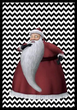 Nightmare Before Christmas - Sandy Claws - Banner