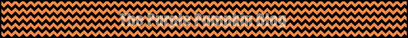 Orange Chevron Paper Chains
