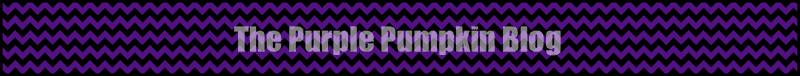 Purple Chevron Paper Chains