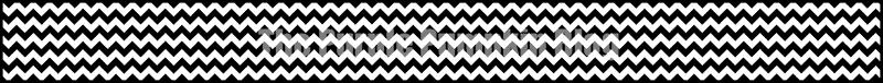 White Chevron Paper Chains